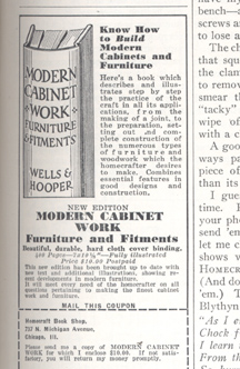 ad for wells and hooper modern cabinet work