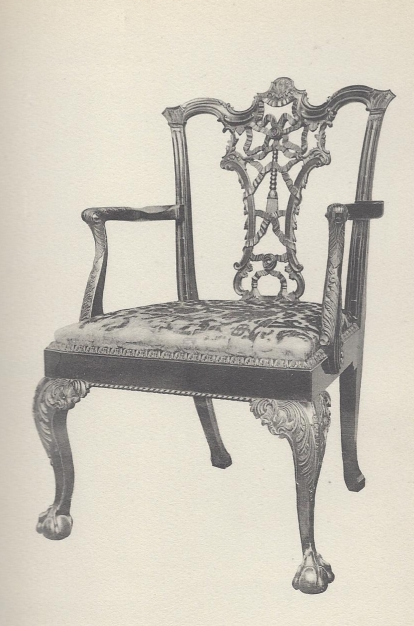 chippendale riband-back chair