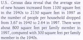 shiller average house size
