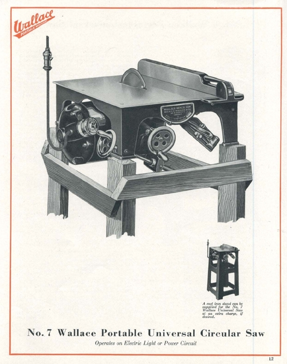 j d wallace table saw