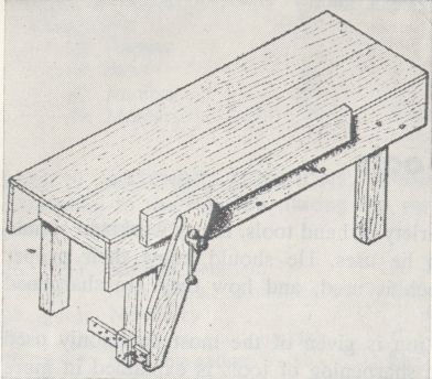 workbench style at beginning of 20th century